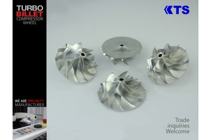 KTS Turbobillet X - Turbo Billet Compressor Wheel | MFS1012C - CT10 (42.87/62.00) 6+6 Forward